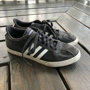 Adidas Women's Neo Courtset AQ0258 Grey Suede 9